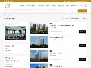 Dịch vụ thiết kế website BĐS đa ngôn ngữ