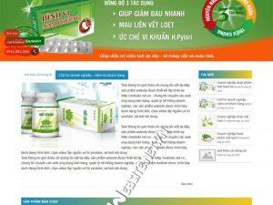 Thiết kế website công ty dược phẩm