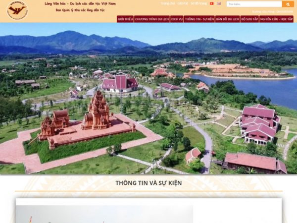 website du lịch