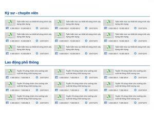 Thiết kế website tuyển dụng tập đoàn An Phát Holdings